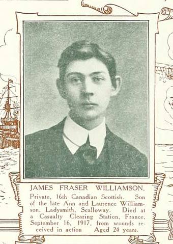 Photo de JAMES FRASER WILLIAMSON