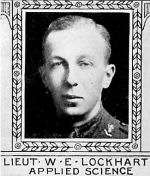 Photo of William Lockhart– From: The Varsity Magazine Supplement Fourth Edition 1918
