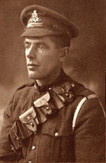 Photo of Walter Reginald Brewer– A portrait of Walter Reginald Brewer by West & Son, Godalming, Surrey, England, taken in July 1917.