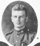 Photo of Edward Bruce– In Memory of those who served in the 106th Overseas Battalion Nova Scotia Rifles.  Submitted for the project, Operation: Picture Me