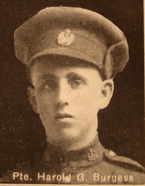 Photo of Harold Burgess