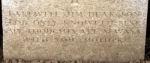 Inscription– Photo courtesy Wilf Schofield, England