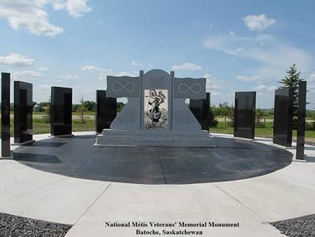 The National Métis Veterans' Memorial Monument