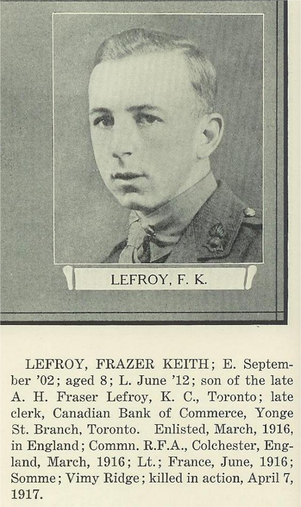 Photo of Keith Lefroy