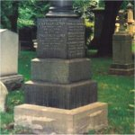 Grave marker– Lefroy family grave includes tribute to Frazer Keith Lefroy.  St. James Cemetery is on Parliament Street in Toronto, Ontario.