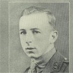 Photo of Keith Lefroy– from Upper Canada College Roll of Service Book