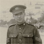 Photo of Joseph Robert Morton– Joseph Robert Morton in uniform