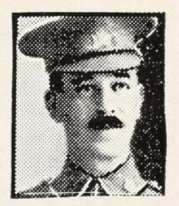Photo of HARRY EDGAR GERMAIN– Photo from the National Memorial Album of Canadian Heroes c.1919. Submitted for the project, Operation: Picture Me.