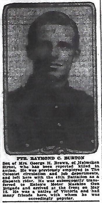 Photo of RAYMOND CLIFFORD BURTON