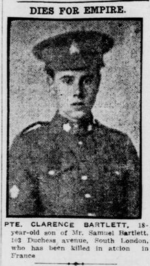 Newspaper clipping– From the London Free Press June 1916. Submitted for the project Operation Picture Me