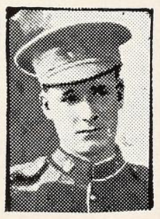 Photo of WALTER FREDERICK THOMAS– Photo from the National Memorial Album of Canadian Heroes c.1919. Submitted for the project, Operation: Picture Me.