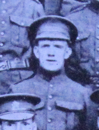 Photo of Joseph Birks– Enrolled with the 37th Battalion CEF. Submitted for the project, Operation: Picture Me