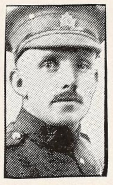 Photo of JOSEPH BIRKS– Photo from the National Memorial Album of Canadian Heroes c.1919. Submitted for the project, Operation: Picture Me.