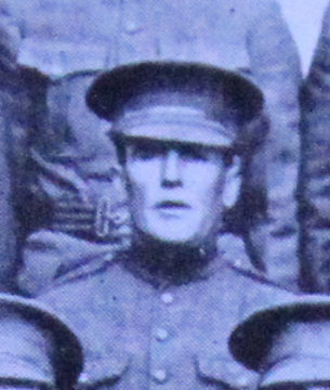 Photo of Edward Hadden– Enrolled in the 37th Battalion CEF. Submitted for the project, Operation: Picture Me