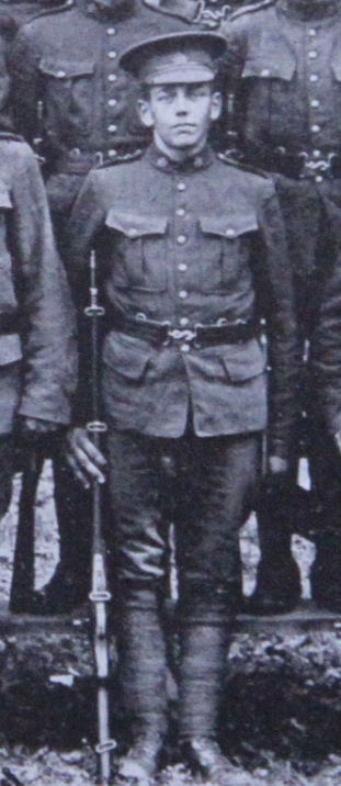 Photo of Ernest Hooper– Served with the 35th Battalion CEF. Submitted for the project, Operation: Picture Me
