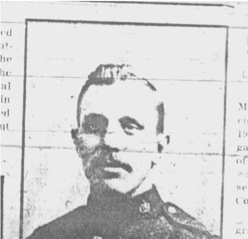 Newspaper clipping– Newspaper clipping via Dawn Hueston. It is believed that the mention of the D.C.M. was in error. There is no evidence of this soldier receiving a D.C.M. in his service record.  Contributed by E.Edwards www.18thbattalioncef.wordpress.com