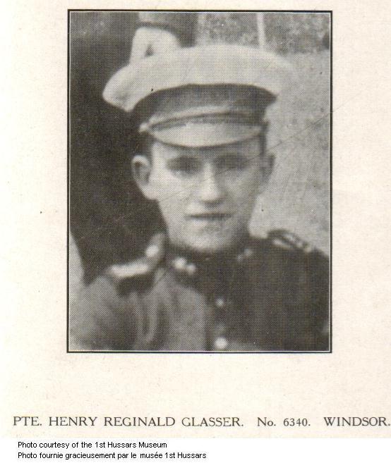 Photo of Henry Reginald Glasser