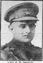 Newspaper clipping– photo from the Calgary Herald May 26, 1916