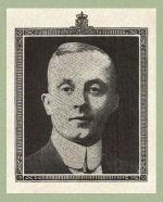 Photo of Frederick Albright– Source:  Acta Victoriana War Supplement, Victoria College, Toronto, Ontario, December 1919.