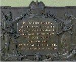 Plaque– World War One Dedication plaque, Beamsville Ontario War Memorial.