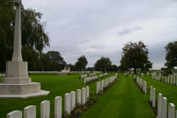 Cemetery– Cemetery, Railway Dugouts Burial Ground, photo courtesy of Marg Liessens.