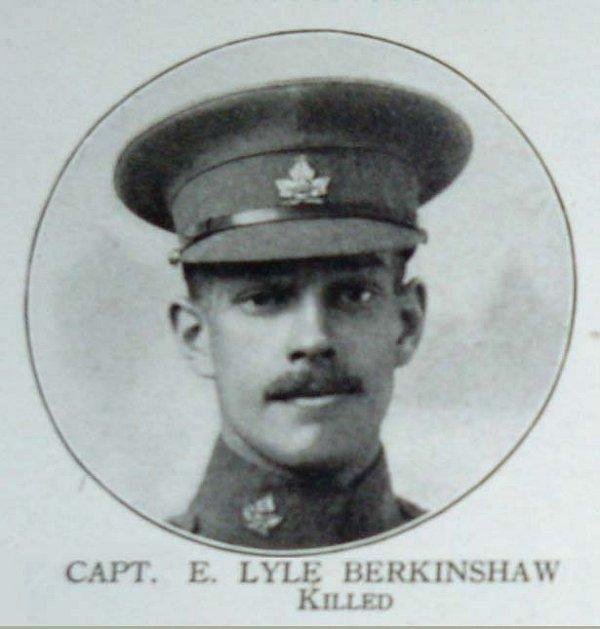 Photo of Edwin Lyle Berkinshaw