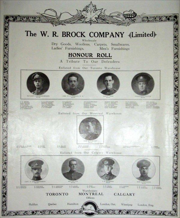 Honour Roll