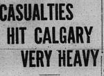 Newspaper clipping– Story from Calgary Daily Herald June 5, 1916