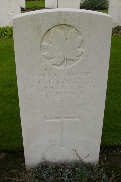 Grave Marker– Grave marker ... Railway Dugouts Burial Ground … photo courtesy of Marg Liessens