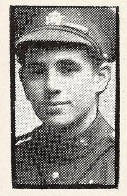 Photo of JAMES RUSSELL COOPER– Photo from the National Memorial Album of Canadian Heroes c.1919. Submitted for the project, Operation: Picture Me.
