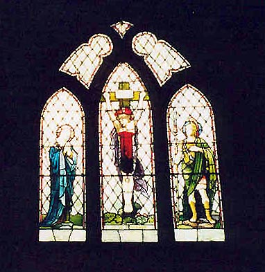 Memorial Stained Glass– St Andrews Anglican, Cowichan Station, B.C.