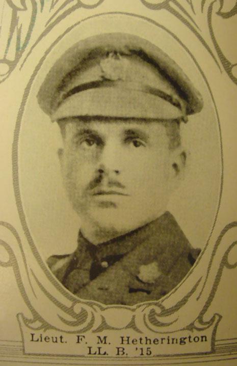 Photo of Francis Hetherington