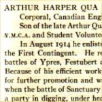 """Honour Roll– """"University of Toronto / Roll of Service 1914-1918"""", 1921."""