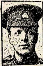 Newspaper Clipping– A member of the first Canadian Contingent.  In honoured memory.
