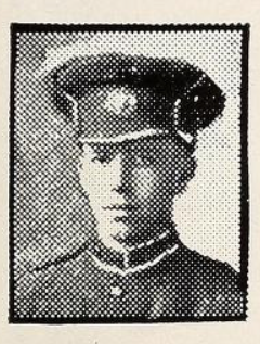 Photo of HOWARD WESLEY SILVERTHORN– Photo from the National Memorial Album of Canadian Heroes c.1919. Submitted for the project, Operation: Picture Me.