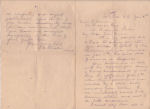 Letter– A letter to his sister Sarah informing her of her brother's death.