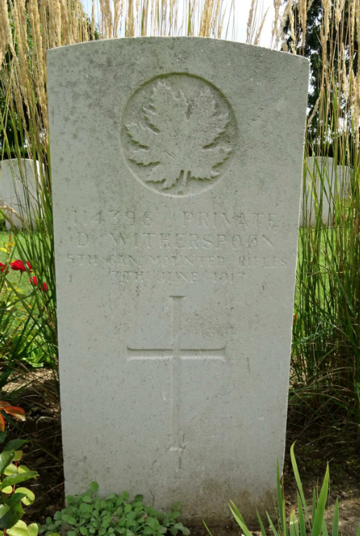Grave Marker– Photo from the National Memorial Album of Canadian Heroes c.1919. Submitted for the project, Operation: Picture Me.