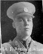 Photo of Joseph Adams– From: The Varsity Magazine Supplement published by The Students Administrative Council, University of Toronto 1916.   Submitted for the Soldiers' Tower Committee, University of Toronto, by Operation Picture Me.