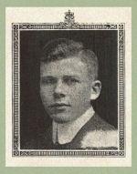 Photo of Joseph Adams– Source:  Acta Victoriana War Supplement, Victoria College, Toronto, Ontario, December 1919.