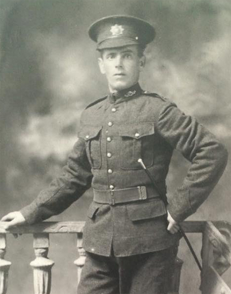 Photo of William Barker– William Barker - Born in North Yorkshire, England.   William emigrated to Canada and served with the 103rd Calgary Rifles before enlisting with the Canadian Overseas Expeditionary Force at Halifax in August 1915.