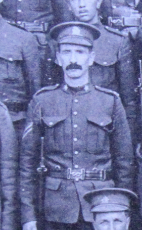 Photo of James Craig– Enrolled with the 37th Battalion CEF. Submitted for the project, Operation: Picture Me