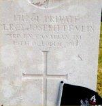 Grave Marker– Photo courtesy of Craig B. Cameron.