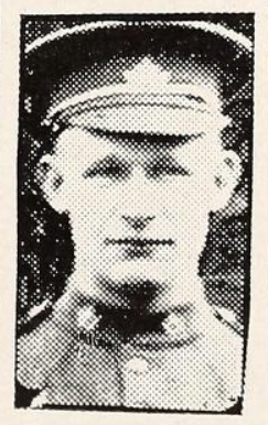 Photo of PERCY JOSEPH DEVLIN– Photo from the National Memorial Album of Canadian Heroes c.1919. Submitted for the project, Operation: Picture Me.