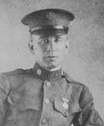 Photo of Frederick Gabriel– Frederick Gabriel, received the French Victory Cross.