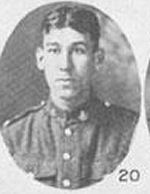 Photo of Frederick Gabriel– In Memory of those who served in the 106th Overseas Battalion Nova Scotia Rifles.  Submitted for the project, Operation: Picture Me