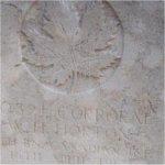 Pierre tombale – Photo fournie gracieusement par Craig B. Cameron, Toronto,ON.