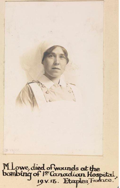 Photo of Margaret Lowe– © IWM (WWC H22-15