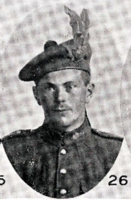 Photo of FREDERICK MANSFIELD– In memory of the men who joined the 185th Battalion (Cape Breton Highlanders) who went to war and did not come home. Submitted for the project, Operation Picture Me