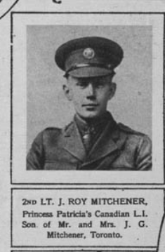 Photo of JOHN ROY MITCHENER– Submitted for the project, Operation Picture Me
