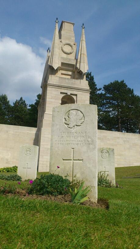 Pierre tombale – mitchener's grave